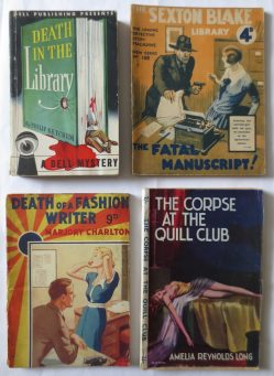 Bibliomystery paperbacks. Some are first editions