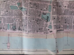 A map showing Brighton with three piers!