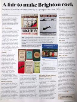 Brighton Book Fair In The News